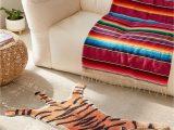Animal Print Bath Rugs Tiger Bath Mat