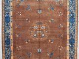 "Antique Blue oriental Rug 7812 Peking Chinese oriental Rug 10'1 X 13'6"""