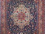 Antique Blue oriental Rug Blue Background isfahan Persian Rug Nazmiyal Antique Rugs