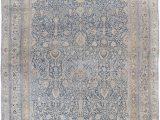 Antique Blue oriental Rug Oversized Blue Persian Rug