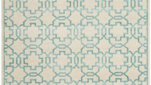 Aqua and Cream area Rugs Safavieh Mosaic Mos152b Cream Aqua area Rug