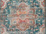 Area Rug 5×7 Blue Luxe Weavers Blue 5×7 oriental area Rug
