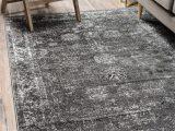 Area Rug for Grey Floors Brandt Dark Grey area Rug
