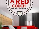 Area Rug for Red Couch What Goes with A Red Couch [14 Ideas with Pics] Home