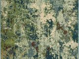 Area Rug Green Blue oriental Weavers Dawson 8021b area Rugs