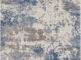 Area Rug Grey Blue Nourison Rustic Textures Rus08 Grey Blue area Rug