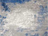 Area Rug Grey Blue Nourison Twilight Twi22 Blue Grey area Rug
