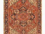 """Area Rug Gripper for Carpet E Of A Kind Taglieri Hand Knotted Red 8 3"""" X 11 3"""" Wool area Rug"""