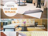 Area Rug Gripper Hardwood Floors Tru Lite Rug Gripper Non Slip Rug Pad for Hardwood Floors Non Skid Washable Furniture Pad Lock area Rugs Mats Carpets Furniture In Place