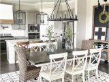 Area Rug Ideas for Open Floor Plan Living Room Dining Room Rustic Farmhouse
