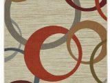 Area Rug Non Slip Pad Lowes Mohawk Home soho 5 X 7 No Indoor Geometric Mid Century Modern area Rug