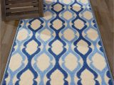"Area Rug On Carpet Slipping 20"" X 59"" Moroccan Trellis area Rug Runner Non Slip Rubber"