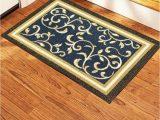 Area Rug On Carpet Slipping Non Slip Door Mat Rubber Back Landing Mat area Rug Low