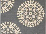 Area Rug On Carpet Slipping Qute Home European Medallion Non Slip Rubber Backed area Rugs & Runner Rug Grey Ivory 3 Ft X 5 Ft area Rug