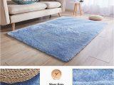 Area Rug On Carpet Slipping Zeegle Living Room Carpet Shaggy Floor Rugs Kids Room Rug Bedroom Mat Anti Slip Children Carpet Plush sofa Chair area Rug