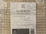 Area Rug Pads for Vinyl Floors 3 X 5 Non Slip area Rug Pad for Hard Floors Ultra Grip 91 4cm X 152 4cm