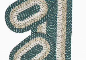 Area Rug Sets Home Décor Mcclure 3 Piece Hand Braided Green area Rug Set