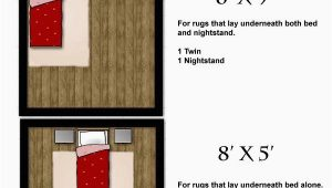 Area Rug Size for Twin Bed area Rug Size Guides for Twin and Queen Size Beds