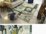 Area Rug Slips On Carpet Buy Chezmax Modern Checked area Rug Indoor Outdoor Non Slip