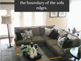 Area Rug Under Coffee Table Only Design Guide How to Style A Sectional sofa