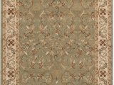 Area Rugs 10 Feet by 12 Feet Superior Heritage 8 X 10 Green area Rug Contemporary Living Room & Bedroom area Rug Anti Static and Water Repellent for Residential or Mercial