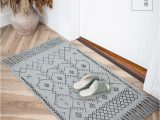 Area Rugs 60 X 90 Us $19 06 Off nordic Bohemian Small area Rug Cotton Hand Weaving Tassels Printed Mat for sofa Living Room Window Bedside 60×90 Indian