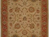 Area Rugs at Walmart Com K2 Floor Style soumak Ivory Rust Hand Made Wool area Rug
