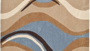 Area Rugs Blue and Tan Safavieh Modern Art Mda617a Blue Brown area Rug Last Chance
