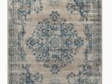 Area Rugs by Bungalow Rose Loewen Floral Shag 5 3 X 7 7 Blue area Rug