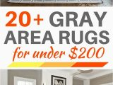 Area Rugs for Gray Floors 20 Gray area Rugs for Under $200 Best Inexpensive Gray