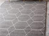 Area Rugs for Gray Floors Elborough Trellis Gray area Rug
