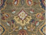Area Rugs for Sale On Amazon Safavieh Blossom Collection Blm402b Handmade Green and Multi Premium Wool area Rug 2 X 3