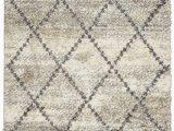 Area Rugs Made In Turkey Bennett Scandinavian Geometric Shag Gray Black Beige area Rug