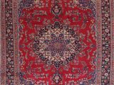 Area Rugs On Sale for Black Friday Black Friday Deal Red Floral Medallion Mashad oriental Hand Knotted Wool area Rug Living Room Carpet 8×11 Walmart
