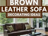 Area Rugs that Go with Brown Leather Furniture 17 Dark Brown Leather sofa Decorating Ideas Home Decor Bliss