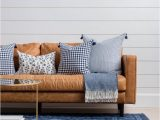 Area Rugs that Go with Brown Leather Furniture Blue Rug Leather Couch