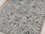 Area Rugs with Blue and Browns Amer Rugs Arcadia Cream Blue Brown Rectangular area Rug