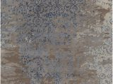 Area Rugs with Blue and Browns Rupec Collection Hand Tufted area Rug In Grey Blue & Brown