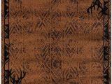 Area Rugs with Deer On them United Weavers Woodside Deer Gaze Rug
