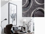 Area Rugs with Grey and Turquoise Lola Shag Grey Turquoise area Rug