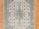Area Rugs with soft Backing Natural area Rugs solara Power Loomed Blue area Rug