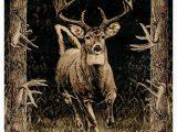 Area Rugs with Wildlife theme Buck Wear Jq S Running Deer Wildlife themed area Rug
