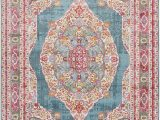 Art Van Clearance area Rugs Bungalow Rose Lonerock oriental Turquoise area Rug & Reviews