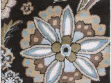 Athena Garden Floral area Rugs Details About Surya ath 5061 athena Transitional Floral Square Ebony 4 Square area Rug