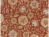 Athena Garden Floral area Rugs Surya athena ath 5127 Hand Tufted Wool Floral and Paisley