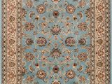 Baby Blue oriental Rug Noble Sarouk Light Blue Persian Floral oriental formal Traditional area Rug