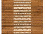 Bamboo Bath Mats Rugs Bryan Bamboo Slat Rectangle Rayon From Bamboo Non Slip Striped Bath Rug