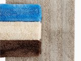 Bath Rug 17 X 24 Mohawk Home Luster Stripe 17 Inches X 24 Inches Bath Rug Finish A Modern Bath with soft touches Of Texture Grey Walmart