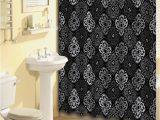 Bath Rug and Curtain Set Home Dynamix Bath Boutique Shower Curtain and Bath Rug Set 1574 480 Black Gray 15 Piece Bath Set Walmart