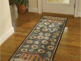 Bath Rug Runner 24 X 72 450 37 House & Sunflower Hooked Rug Runner Size 24 X 72